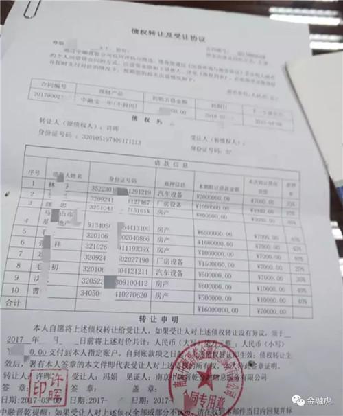 中融晋乾涉嫌非吸被立案侦查3人被刑拘,投资人已可报案!