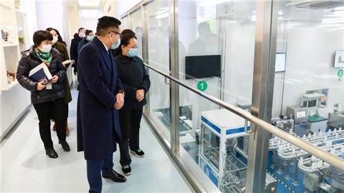 江苏省安全生产第五督导组朱晓明组长赴绿叶巡查安全生产