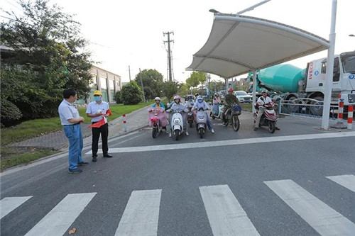 安惠江海志愿者圆满完成交通志愿服务阶段性工作