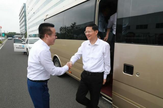李亚平市长莅临绿叶调研指导