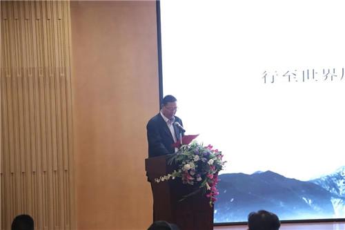 金诃藏药创始人艾措千在藏有引力藏式康养小院研讨会上致辞
