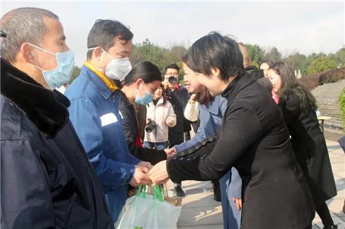 新春送暖·情满浏阳   绿之韵集团举行新春爱心慰问活动