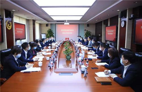 中国节能环保集团党委书记、董事长 宋鑫一行莅临新时代慰问调研