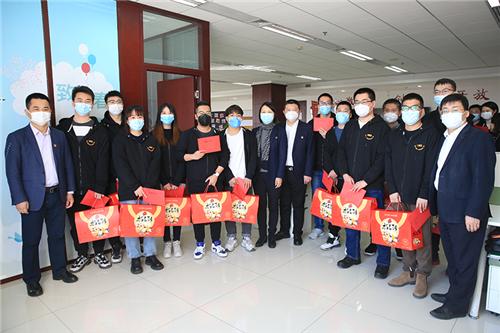 新春慰问到基层,真情厚意暖人心 ——新时代公司领导走访慰问在京全体员工