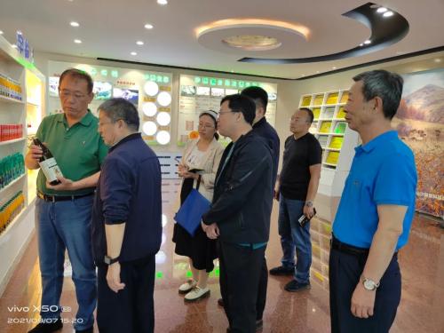 呼和浩特市市委副书记曹思阳走访调研宇航人